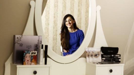 kosmetik-studio: Nivin Abdin ist schön, macht schön