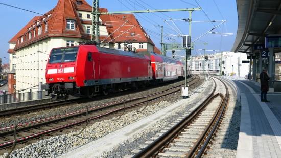 Künftig gehen S-Bahn und Fernbahn getrennte Wege.