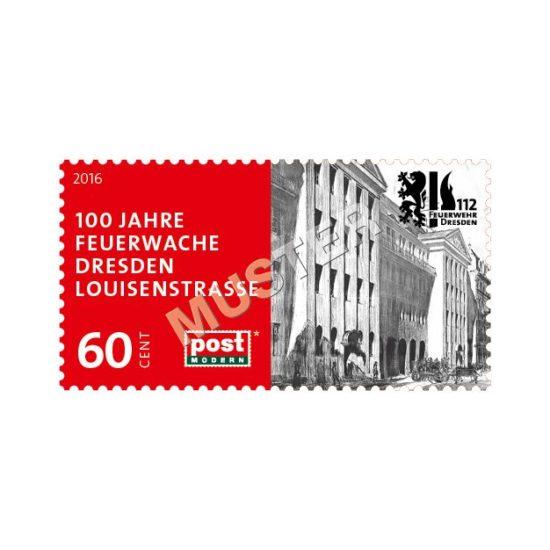Feuerwehr-Briefmarke