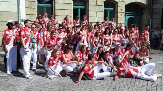 BRN-Sonnabend: BRN-Gruppen-Selfie mit Samba Universo
