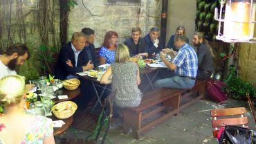 Bierdeckelvorstellung mit Pressefrühstück im Raskolnikoff