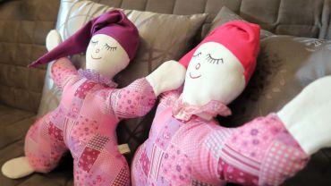kuschlige Puppen
