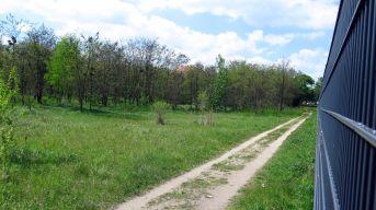 """Wohnen am Zaun? Direkt neben dem Militärsgelände ist das Wohnviertel """"Albertstadt Ost, Jägerpark"""" geplant."""