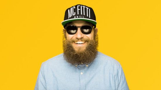 MC Fitti in der Groovestation
