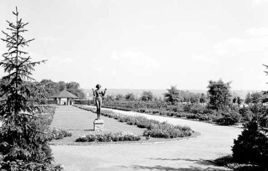 Rosengarten 1938 - Foto: Landeshauptstadt Dresden