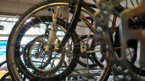 Fahrräder in Hülle und Fülle...