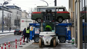 Polizei-Barkas