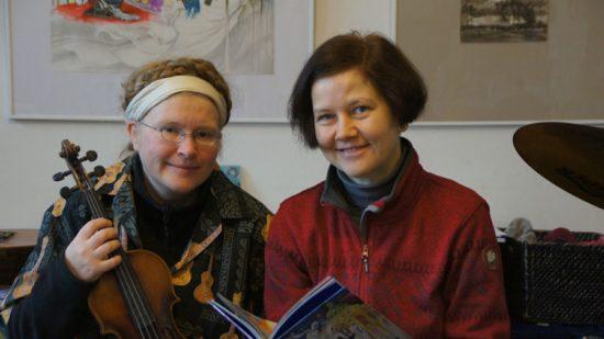 Castorp und Ollux, alias Sylvia Smesny und Silke Schneider