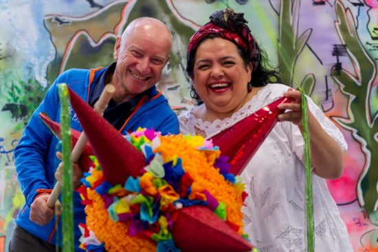 Frank Schulz und El Meradito-Chefin Maria Kordt auf der Reisemesse - Foto: PR/Arvid Müller