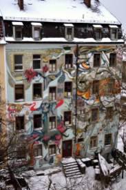Hinterhaus im Hecht-Viertel