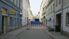 Böhmische Straße - Vollsperrung bis Jahresende