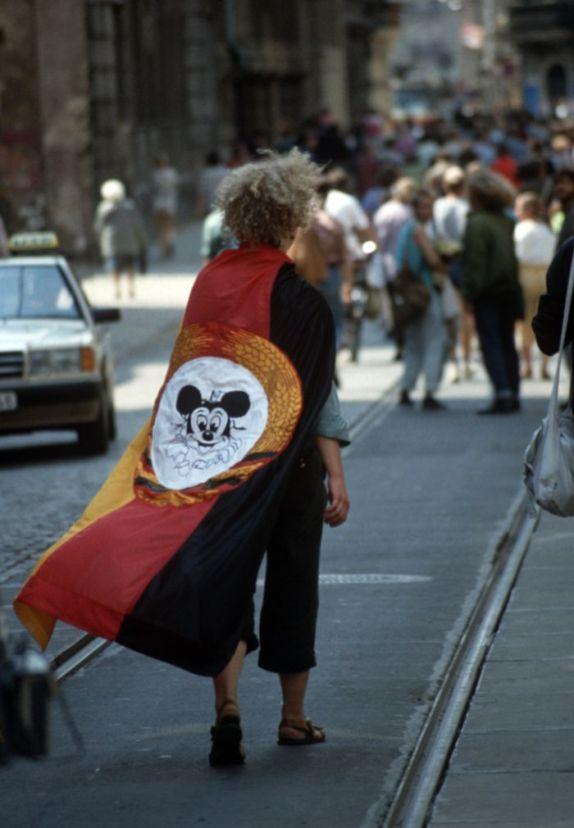 Bunte Republik Neustadt Anfang der 1990er Jahre - Foto: Lothar Lange