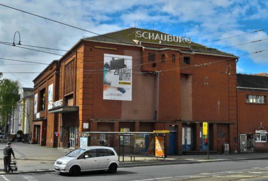 Schauburg - größtes Kino in der Neustadt