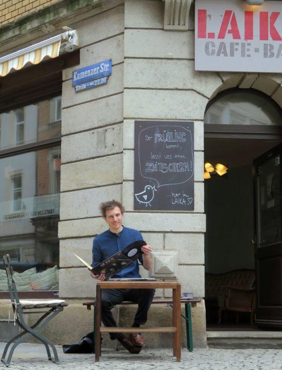 """Der Neustadt-DJ aus Italien: """"dj !mauf"""""""