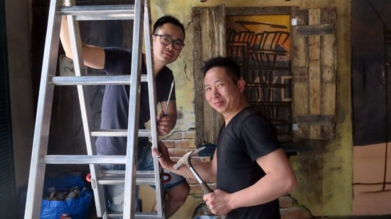 Kellner Bach Hoang und Koch Hai Son Nguyen