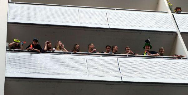 Balkonien auf der Alaunstraße