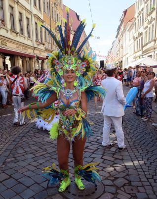 die Samba-Königin