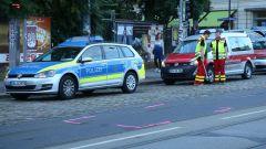 Polizei und Unfallforschung ermitteln den Verlauf des Unfalls.