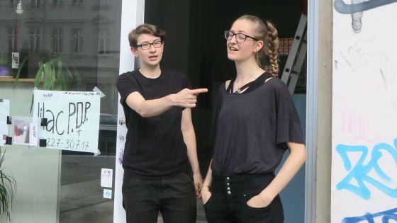 Lilacpop - Eröffnung am Sonnabend mit Franziska Goralski und Anna Erdmann.