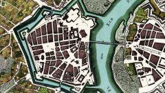 Dresden-Neustadt um 1750
