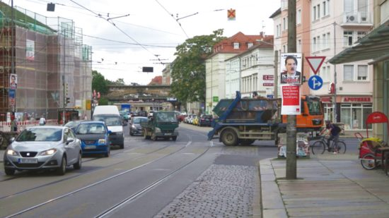 Die Partei und die SPD beschränken die Sicht.