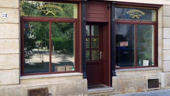 Giljanas Barbierstube wird renoviert.