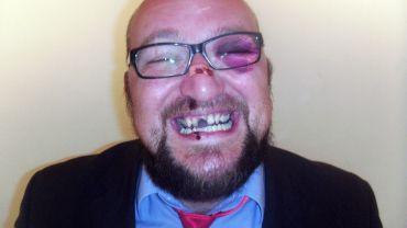 """Steffen Retzlaff - Kandidat der Partei """"Die Partei"""""""
