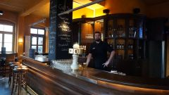 Barkeeper Sebastian Reinhold im Craft-Beer & Sports