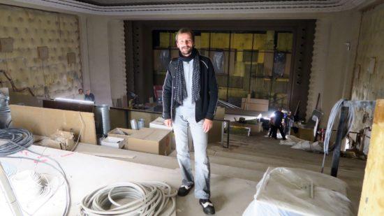 Schauburg-Geschäftsführer Stephan Ostertag im Sergio-Leone-Saal.