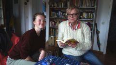 Leseratten: Lea Olschowsky und Regina Kirchhof