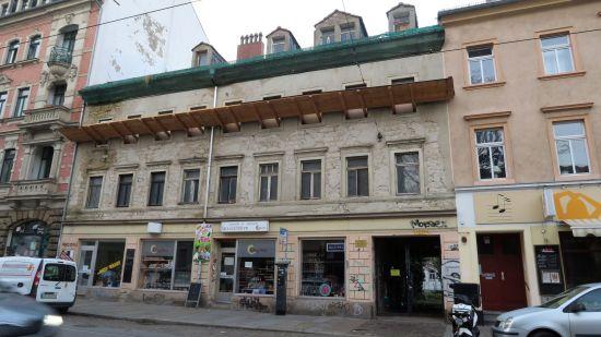 Das Haus Bischofsweg 16 soll abgerissen werden. Für Kaufinteressenten war der Besitzer bisher nicht zu sprechen.