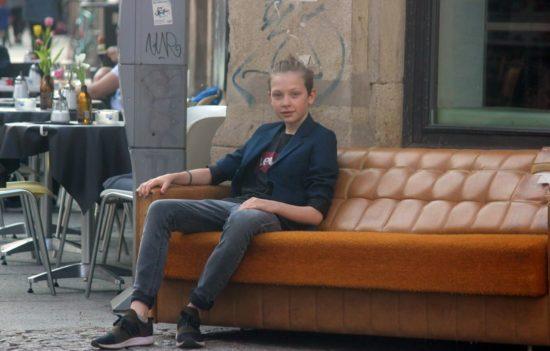 Edgar in der Neustadt
