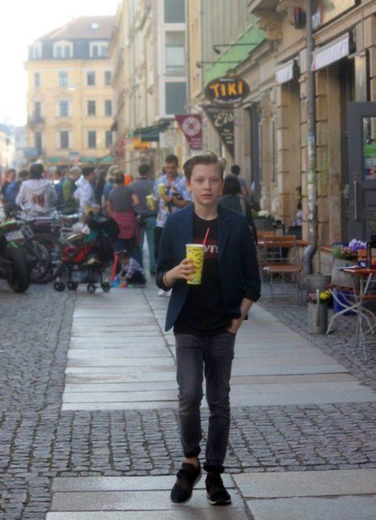 Edgar auf der Görlitzer Straße