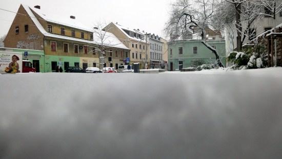Weiße Ecke - Alaun-/Böhmische Straße - Foto: Archiv November 2010