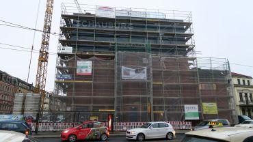 Noch nicht fertig saniert: Schauburg