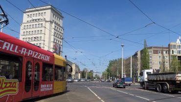 Am Sonntag: Albertplatz ohne Bahn