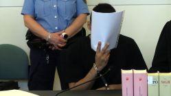 Angeklagter Shahjahan B. im Dresdner Landgericht