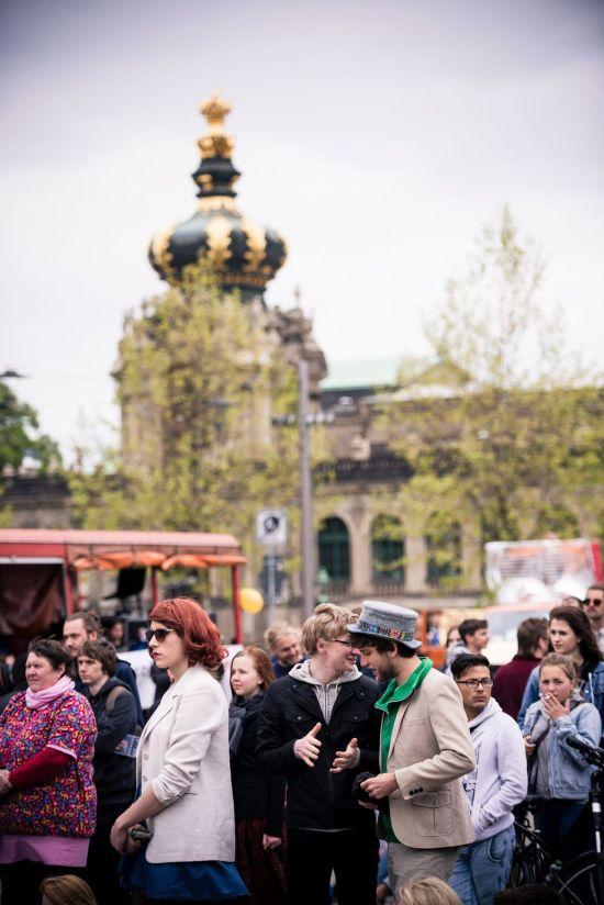 Bei Facebook bekunden 2000 Menschen Interesse an der Tolerade. Die Veranstalter rechnen mit mindestens der dreifachen Menge. Foto: Moritz Schlieb