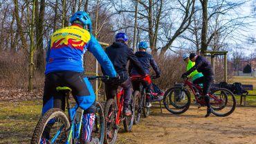 Gruppenkurs des Bike Trail