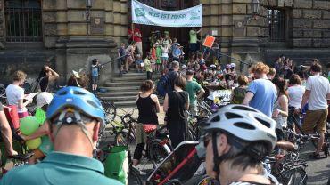 Fahrrad-Demo für die NUS am 8. Juni - Foto: NUS