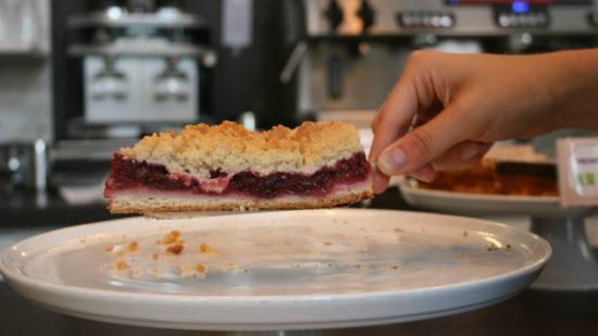 Dieser Kuchen von Hellers wurde erfolgreich gerettet.