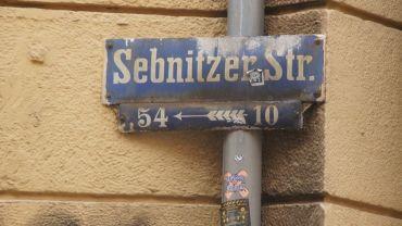Die Sebnitzer Straße wurde 1883 getauft