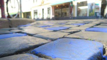 Blaustein an der Rothenburger Straße
