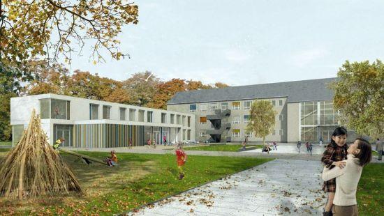 Visualisierung 30. Grundschule Raum und Bau GmbH