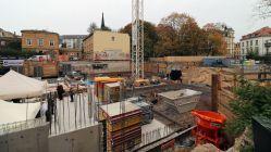 """Baugrube für """"Pfunds Höfe"""""""