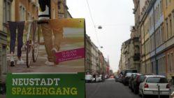 Neustadtspaziergang in grün