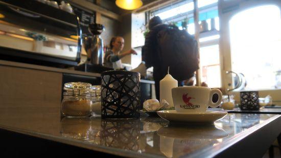 Kaffee im Kafétraum kommt von Kaffanero