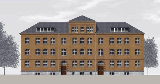 Haus B - Visualisierung: NBHG Architekten