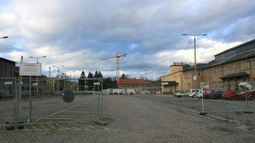 Das Drewag-Gelände im Umbruch