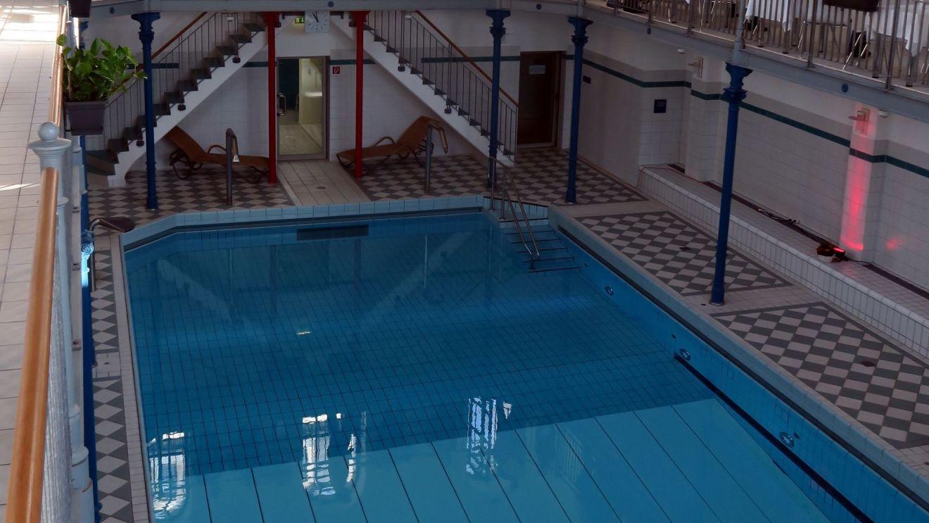 Schwimmbecken im Nordbad